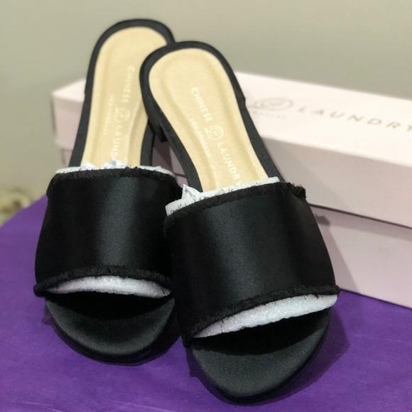 4477a887f847 Chinese Laundry Pattie Satin Slide Sandal